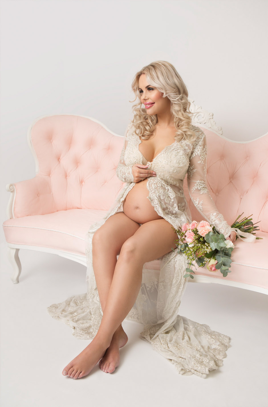 Se vår temabrosjyre for hvordan vi fotograferer med blomstrer til gravidfotografering.